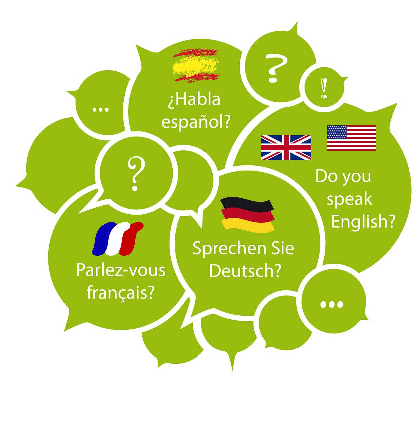 Język obcy na nowy rok